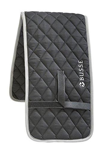 BUSSE Longiergurt-Unterlage COLOUR, schwarz/grau, 80x15