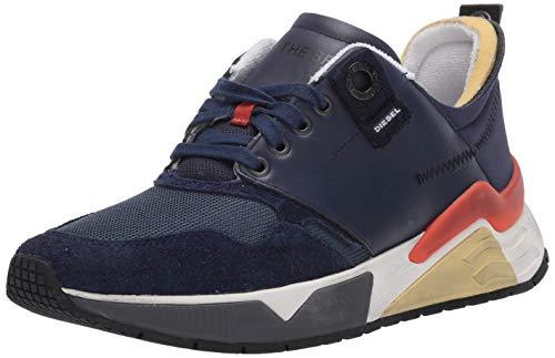 Diesel S-brentha - Zapatillas deportivas para hombre, Azul (Azul marino medianoche, azul marino.), 42.5 EU