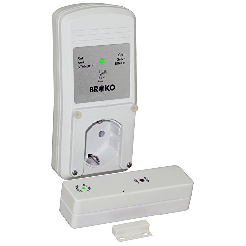 Funk - Abluft - Sicherheitsschalter BL220F(SG) / Funk Sicherheits Abluftsteuerung DIBt geprüft/Fensterschalter Wireless/Fensterkontaktschalter/BROKO