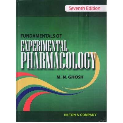Fundamentals of Experimental Pharmacology