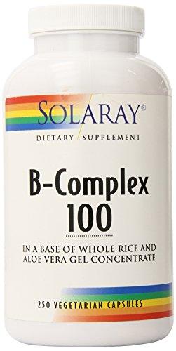 Solaray B Complex Supplement, 100mg, 250 Count