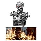 LPVIE Buildmoc Terminator T-800 Skull Bust 20570 Block Set Statua Modello Building Blocks Children Toys Gifts