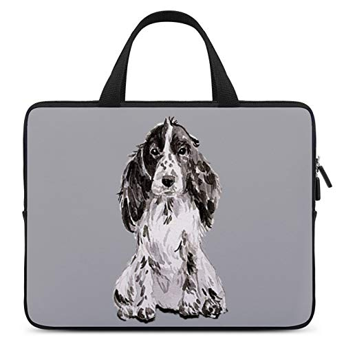 Universal Laptop Computer Tablet,Case,Cover for Apple/MacBook/HP/Acer/Asus/Dell/Lenovo/Samsung,Laptop Sleeve,Color for Dog English Cocker Spaniel Sporting Group,10inch