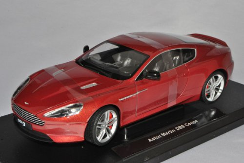 Welly Aston Martin DB9 Rot 1/18 Modell Auto