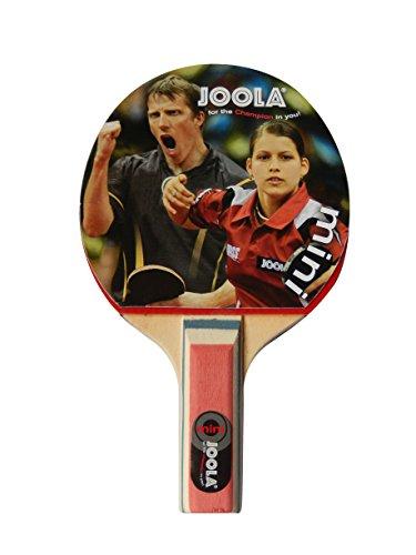 JOOLA TT-Schläger Mini Tischtennisschläger, mehrfarbig, 9,5cm x 15,5 cm