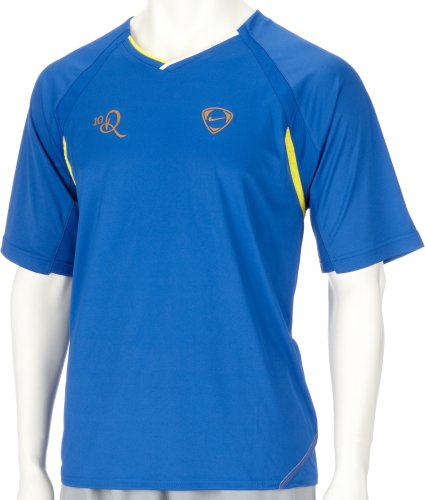 Nike Short Sleeve 10R Top blau Small
