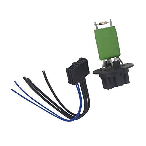 KASturbo 6450.JP Resistencia del ventilador del motor del calefactor con conector para el 206 307 C3 Xsara Picasso