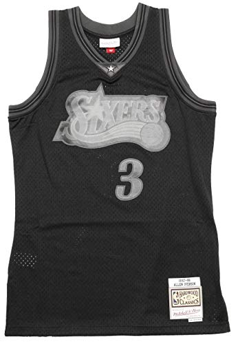 Mitchell & Ness Back to Black Philadelphia 76ers Allen Iverson Tanktop Black