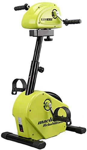 CCLLA Máquina de rehabilitación eléctrica, extremidades Superiores e Inferiores Bicicleta Manos y pies Entrenamiento síncrono Equipo de Entrenamiento de rehabilitación de Modo Dual Activo y pasivo*1