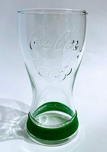 /Coca Cola Vasos de 0,3 l, originales, edición especial de Londres 2012, Olympics/Mc Donalds, cristal de contorno, arcoroc, vasos, refrescos, vasos largos, vasos para restaurantes, bares, fiestas