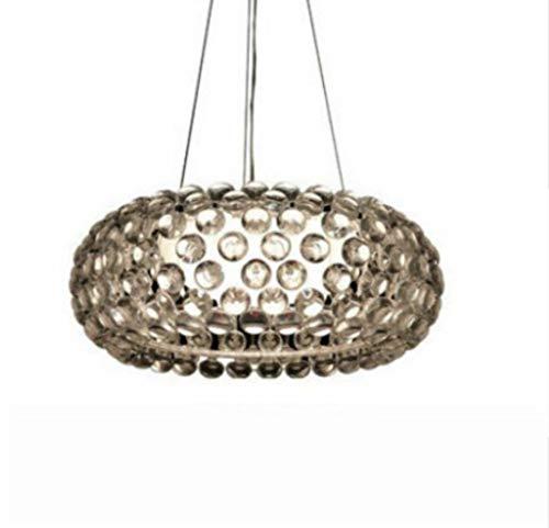 Lampen Pendelleuchte Deckenleuchte Hängelampe Deckenlampe 50 Cm Caboche Pendelleuchte Für Wohnzimmer Esszimmer Acryl Perlen Glas Designer Lampen