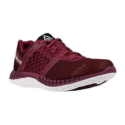 Reebok ZPRINT RUN HAZARD GP, Damen Laufschuhe , Rot (Rebel Berry / Mystic Marron / White), 36.2/3 EU (4 UK)