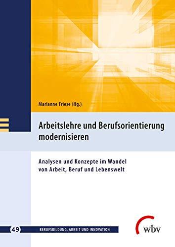 Arbeitslehre und Berufsorientierung modernisieren: Analysen und Konzepte im Wandel von Arbeit, Beruf und Lebenswelt (Berufsbildung, Arbeit und Innovation)