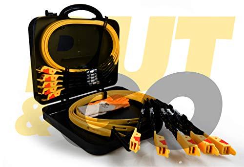 NEW PUT&GO EVOL 4 Dispositivo Universale con Placca Acciaio Fasce Fascette da Neve Sostituisce Le...