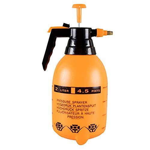 TOPmountain Pulverizador de Bomba de jardín de 2 litros, pulverizador de Agua a presión portátil, pulverizadores para césped, pulverización de malezas, riego, Limpieza del hogar, Lavado de Autos