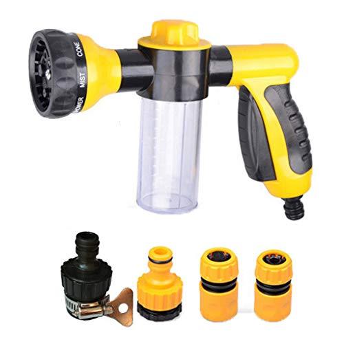 Tragbare Auto, Reinigen, Waschen Set Hochdruck 8 Funktion Schaum Seife Shampoo Sprayer Reiniger Reinigungsmittel-Werkzeug
