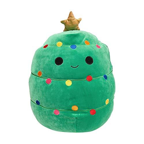 Muñeca de peluche de Navidad de 12 pulgadas – Juguetes de peluche con forma de árbol de Navidad, regalo de cumpleaños de Navidad