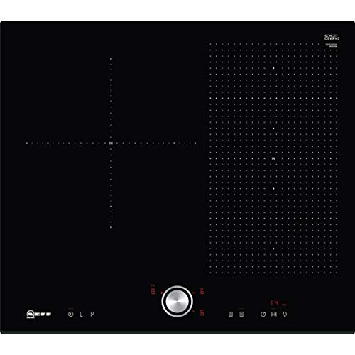 Neff T56FT30X0 Intégré Induction Noir plaque - plaques (Intégré, Induction, Noir, Rotatif)