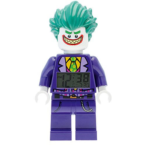 Lego The Joker - Reloj despertador con diseño de Batman Movie