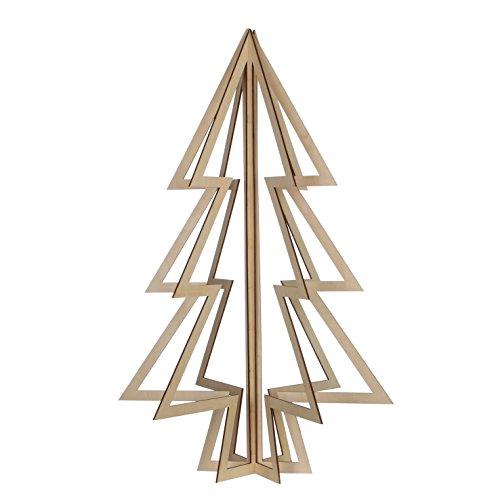 Luca Lighting, Albero di Natale 3D in legno