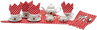 Schylling Ladybug Porcelain Tea Set