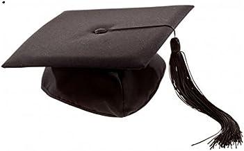 Schramm® Doctor Bachelor Hat Uni Diploma Hat Ceremonia de graduación Estudiante de doctorado