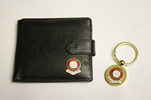 Awesome Gifts Football club wallet keyring gift set – Crewe Alexandra