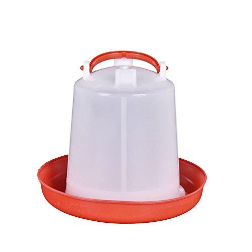 Distributore automatico di mangime per pollame,1.5L,Pollo pollame quaglia fagiano bevitore automatico cibo alimentatore Waterer Tool