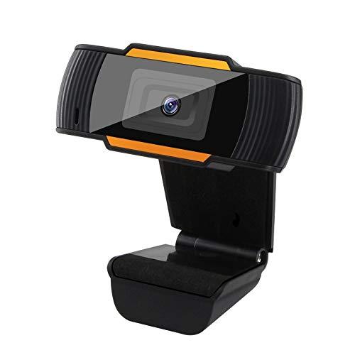 Webcams Telefonía VoIP Webcam 1080p Cámara Web Full HD Full-In Micrófono Incorporado Girlatable USB Enchufe Cámara para computadora PC Computadora Laptop Desktop (Color : 1080P Black)