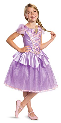 Disney Princess Rapunzel Classic Girls' Costume, Purple