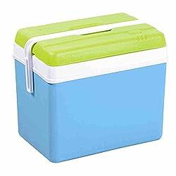 ETS Georges David SA 679964 Promotions-køleboks, blå / grøn, 35 liter