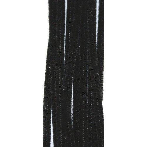 100 schwarze Rohrreiniger 300mm x 4mm
