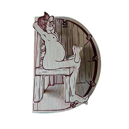 Lichaamssauna thermometer thermometer voor saunaruimtes nuttig gereedschap – is een geweldig gereedschap voor het volgen van de temperatuur. Real-time en nauwkeurige weergave breed breed breed breed breed scala van ruimte