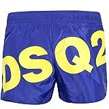 DSquared COSTUME BOXER BAMBINO ROYAL GIALLO DQ03BK-D00QK Blu 8 anni