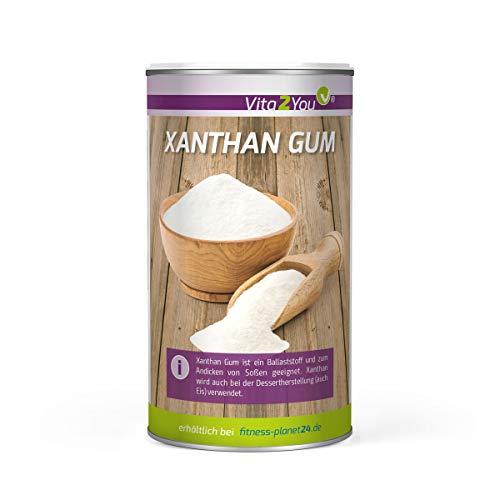 Xanthan Gum 250g - Bindemittel - Glutenfrei - Xanthan Pulver in Lebensmittelqualität - Stabilisator - Vegan - Premium Qualität
