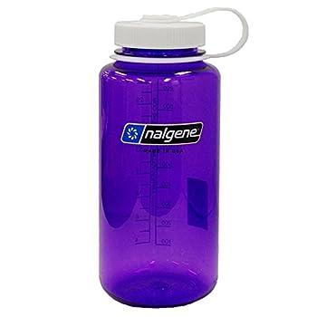 Nalgene Tritan Wide Mouth BPA-Free Water Bottle Aubergine