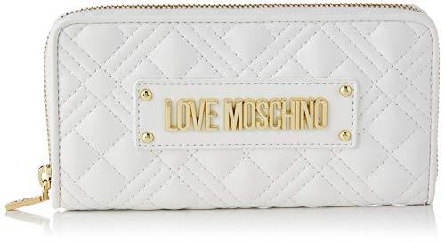Love Moschino Precollezione SS21   Portafoglio da Donna, Bianco, Normal