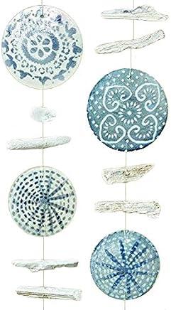 Casa e cucina Tessili da cucina Home Collection Casa Cucina Decorazione Accessori Set 40 Tovaglioli Monouso Carta 3 veli 33 x 33 cm Motivo Coralli Marini Multicolore