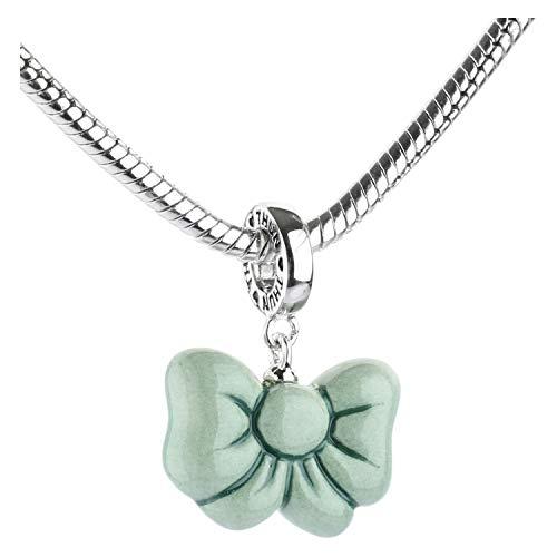 THUN ® - Charm'Collection' fiocco verde - Ceramica -