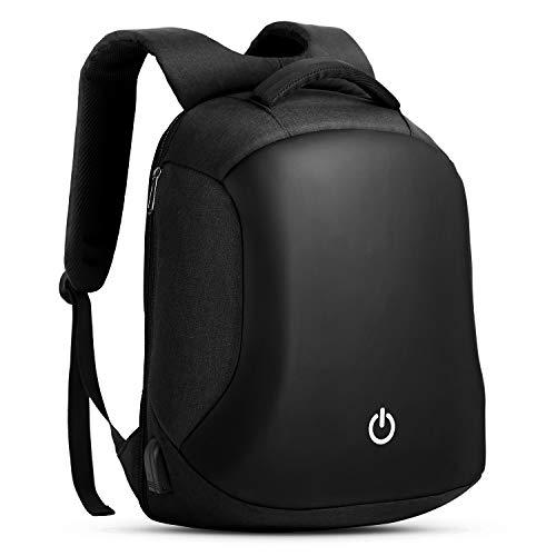 HOMIEE Mochila Antirrobo Impermeable de Negocios con Carga USB Bolsa de Viaje para Portátil
