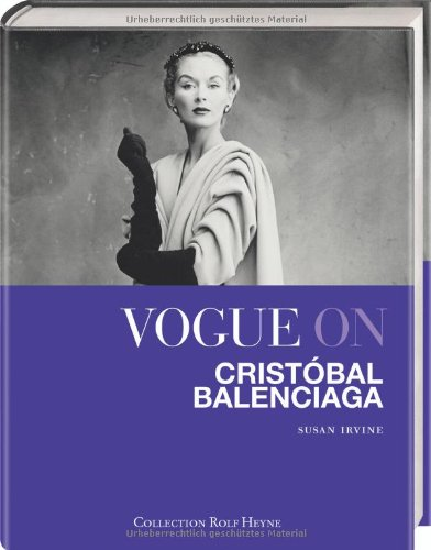 Vogue on Cristóbal Balenciaga PDF Books
