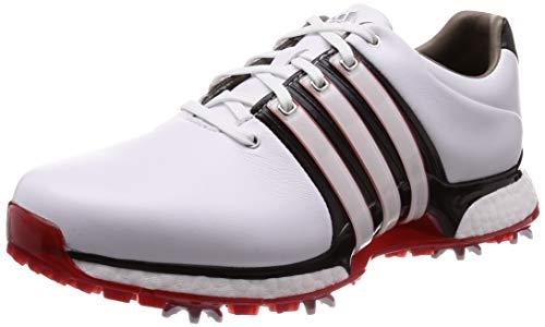 adidas Herren Tour360 Xt(Wide) Golfschuhe, Weiß (Blanco/Negro/Rojo Bd7124), 42 EU