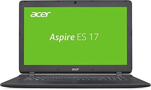 Acer Aspire ES 17 (ES1-732-P5SK) 43,9 cm (17,3 Zoll HD+) Multimedia Laptop (Intel Pentium N4200, 8 GB RAM, 1000 GB HDD, Intel HD, Win 10) schwarz