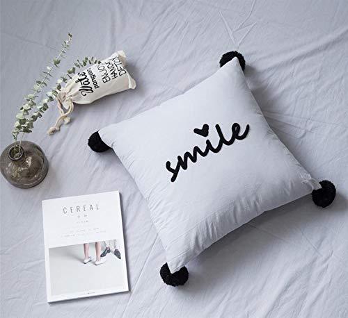 Uniquevivi Serie Viva de Lino de algodón,para sofá,sillón,Silla,Cama,Colegio,Viaje y Siestas.