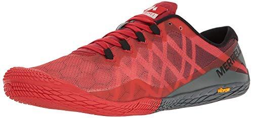 Merrell Vapor Glove 3, Zapatillas Deportivas para Interior Hombre, Rojo (Molten Lava), 46 EU