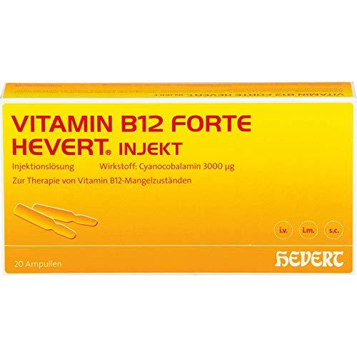 Vitamin B12 forte Hevert injekt Ampullen, 20 St. Ampullen