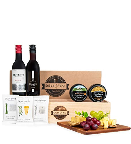 Deli & Co Cheese and Wine - Free Delivery - Cheese and Wine Gifts - Cheese and Wine Hampers - Cheese Gifts - Cheese Hampers