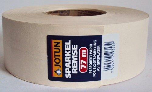 Jotun Fugenband aus perforierten Spezialpapier mit mittige Falzrille / für schnelle u. leichte Verarbeitung / für Rigibsplatten /