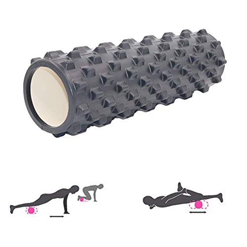 DealMux Balance Roll fascia roll back roll Yoga roll fascia roll rodillo de espuma dura fascia roll spine