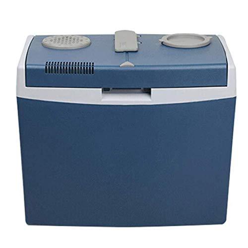 BBZZ Glacière thermoélectrique de 35 L pour camping 12 V/24 V pour camion, voiture, congélateur portable chaud et froid, mini réfrigérateurs pour les voyages et les pique-niques